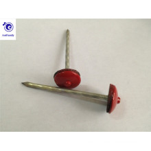 Colored Umbrella Head Galvanized Roofing Nails